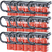 12 Pack 50a 6-14 Gauge Battery Quick Connect Disconnect Wire Harness Plug Kit