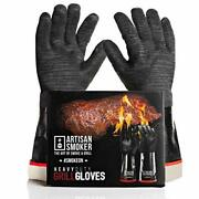 Artisan Smoker Heat Resistant Gloves For Grill,easy To Clean Bbq Gloves For Smok