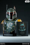 Sideshow Collectibles Star Wars Boba Fett 11 Life Size Bust Statue Brand New