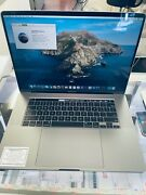 2019 Apple Macbook Pro 15.4and039and039 512gb I7 2.6 Ghz 16gb Applecare Till Dec 2023