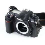 Nikon D200 10.2mp Dslr Camera W/ Strap 0751 [for Parts Read - Body Only]