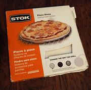 Stok Pizza Stone Grilling Insert System Sis4000 11.5andrdquo