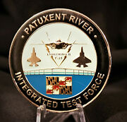 Patuxent River Integrated Test Force F-35 Non Chief Cpo Us Navy Challenge Coin