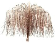 Large Copper And Brass Willow Tree Metal Wall Art Sculpture New 28x33x4