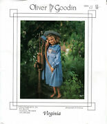 Virginia Andcopy1988 Oliver Goodin Sewing Pattern Choose Size 1-5/6-10 Smocking