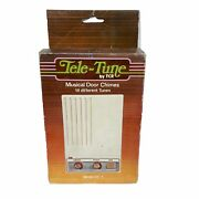 Vintage Tell-tune By Tcr Musical Door Chimes 14 Tunes Model Dc-1