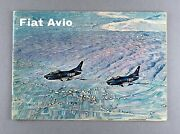 Fiat G.91 Avio Manufacturers Sales Brochure - 7002 Helicopter - Fiat Aviation