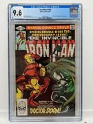 Iron Man 150 Marvel 1981 Cgc 9.6 Nm Ow/white Pages Doctor Doom Appearance