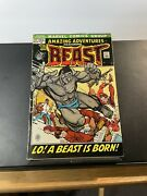 Amazing Adventures 11 Marvel Comics 1972 1st Appearance Of The Furry Beast