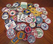 Lot Of 54 Vintage Yacht Racing Cup, Regatta, Trophy And Club Embroidered Patches