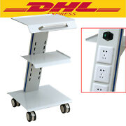 New Medical Trolley Cart Mobile Steel Cart Trolley For Dental Equipment Purpose