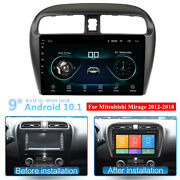 For 2012-18 Mitsubishi Mirage 9and039and039 Android 10.1 Head Unit Stereo Gps Navi Wifi Fm