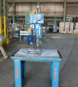 Clausing 20 Variable Speed Drill Press With Cast Iron Table 2287