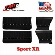 Sport Xr Door And Quarter Panel Set - Charcoal Black For 1964-65 Chevelle By Tmi
