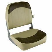 2 X Wise 8wd734pls-662 Low Back Boat Seat Sand/brown Set Of 2 Seats