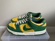 100 Authentic Rare 2001 Nike Dunk Low Brazil Size 9 624035-331