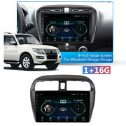 9and039and039 Android 10.1 Car Stereo Radio Gps Player Wifi For Mitsubishi Mirage 2012-18