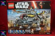 Lego Star Wars 75157 Captain Rexand039s At-te Sealed 2016 Retired Nib