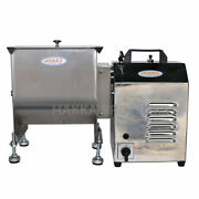 Hakka Electric Meat Mixer 120lbs/60l Capacity Gear Driven Stainless Steel Mixer