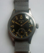 Wwii 40s Record British Royal Army Miltary Watch Www Model