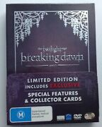 The Twilight Saga Breaking Dawn Limited Edition [3 Dvd Set And 6 Collector Cards]
