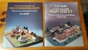 A.g. Smith Cut And Assemble Main Street And Farm Full-color Buildings H-o Scale 1983