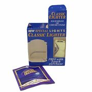 Vintage Camel Cigarette Special Lights Brass Classic Lighter Box And Catalog New