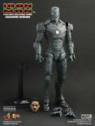 2009 Hot Toys Iron Man Mark Iii Gunmetal Grey Silly Thing Edition Sdcc Mms101