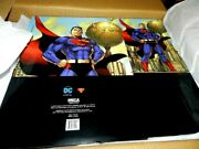 Dc Comics Superman Short Comic Box X3 Storage 80 Years Long Sold Out 3 Cased