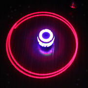 Novel Led Light Spinning Colorful Top Gyro Peg-top Toy Great Outdoor Game