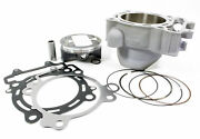 Honda 2012 Crf450r Cylinder Piston And Gaskets Kit 12100-men-a50 New Oem