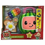 Cocomelon Jj Lunchbox Playset Sort Stack And Learn