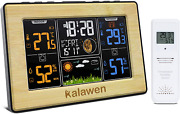 Wireless Weather Station Indoor Outdoor Digital Thermometer Hygrometer Forecast