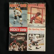 4 The Sporting News Hockey Guide - 1969-70 1976-77 1980-81 1981-82