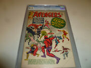 Avengers 6 Cgc Graded 8.5 Vf+ First Appearance Of Baron Zemo Disney