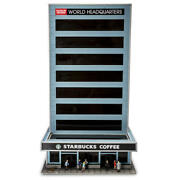 O Scale World Headquarters Building Led Lighted Interchangeable Sign