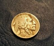 1919-d Buffalo Nickel Early Historic Date Nice Details Estate Sale