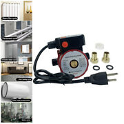 Npt 3/4and039and039 Hot Water Circulation Pump Recirculating For Water Heater System Red