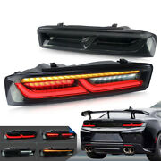 Vland Led Taillights For Chevrolet Chevy Camaro 2016-2018 W/sequential Turn Sign
