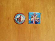 Western Michigan All British Motorcycle Ride And Rally Pins. 1989 And 1990