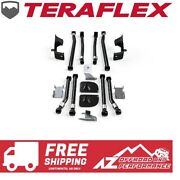 Teraflex Rear 2 Stretch Kit W/ Mid Arms And Front Long Arms For 07-18 Jeep Jk Jku