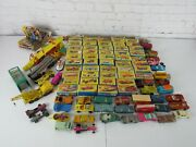 Vintage Matchbox Toy Car Collection 1960and039s-1970s Details Below