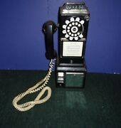 Working Phone - Replica 1956 Push Button Pay Phone Bank Wall Mounted