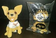 2 Taco Bell Kids Meal Original Talking Chihuahua 6 Plush Toy