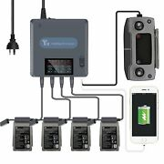 6 In 1 Intelligent Battery Charger Charging Hub For Dji Mavic 2 Pro/zoom Drone