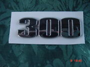 Sea Ray Boat 300 Emblem New Chrome With Peel And Stick Backing New