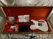 Fender Jimmy Page Mirror Telecaster 6 String Electric Guitar - White Blonde