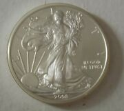 2008 American Silver Eagle Dollar - Nice Bu Condition In Kointain Capsule 101