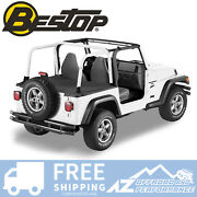 Bestop Duster Deck Cover For And03904-and03906 Jeep Wrangler Unlimited Lj W/ Hard Top