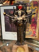 Brom Soul Forge Statue With Signed Brom Art Print
